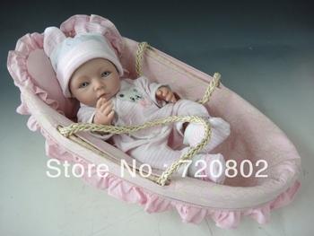 100% full silicone lifelike baby silicone reborn baby dolls