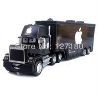 Black  Apple MACK  TRUCK Pixar  Cars toys alloy Diecast  Brand new toy model