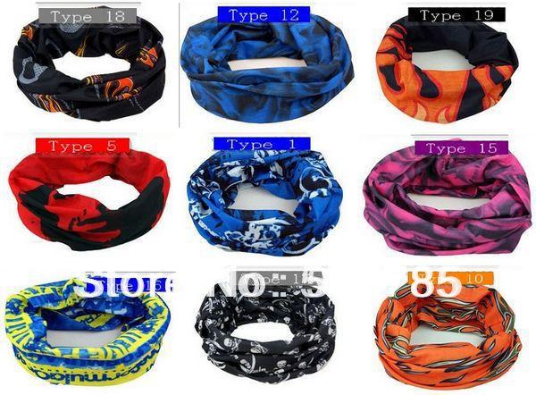 Outdoor Sports Cycling Bike Bicycle Riding Variety Turban Magic Headband Veil Multi Head Scarf Scarves Face Mesh Bandanas(China (Mainland))