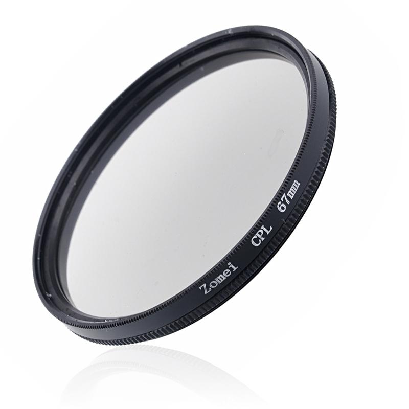 Zomei 67 mm 67mm CPL Circular Polarizer Lens Filter Protector(China (Mainland))