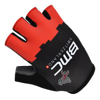2014 Tour De France BMC team Cycling Gloves, Bike Bicycle Half Finger Outdoor Sports Gloves  Size S/M/L/XL