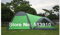 Upgrade materials!1hall 1bedroom 5-8persons large family/party tent for outdoor camping use