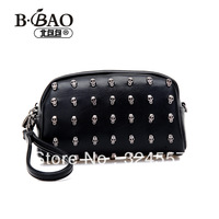 Day clutch female 2013 women's handbag skull messenger bag portable mini 2888 small bags