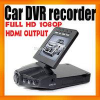 "Sunplus Car DVR H-198 Camera recorder 2.5"" LCD 270 Degree Rotating Screen Camcorder Night Vision Multi-Language 30pcs/lot"