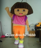 Adult 3D Dora Mascot Costume Fancy Dress Suit Halloween Outfit Free Shipping