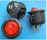 6A 250V diameter:20mm circular/ Ship switch red key