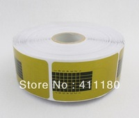 Free Shipping. 500 Pcs/Rolll, 5 Rolls/Lot Crystal Armor Phototherapy Nail Art Paper Holder
