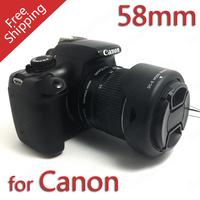 58MM Reversible Petal Flower Lens Hood for Canon Rebel T5i T4i T3i T3 T2i XSi