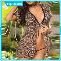 DYYY-0125 Direct selling, short-sleeved cardigan clothing, beast pattern, pajamas + T pants,Sexy Lingeries