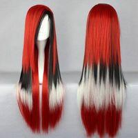 New popular  80cm Long Multi-Color Beautiful lolita wig Anime Wig