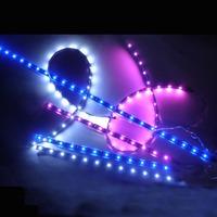 Car LED Light Bar DIY Decorative Lamp Waterproof with Tape 30CM