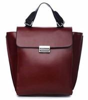 Free Shipping women's handbag fashion bags shoulder bag cross-body bag brief vintage big bag leather handbag ladies' handbag