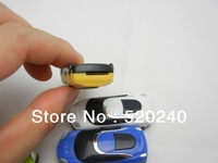 Top Quality Stylish Mini Card MP3 Player, Free Shipping 50pcs/lot Music Player Beautiful Car MP3