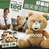 Original ! 60 cm Teddy Bear Ted Plush Toys Man's Ted Bear Stuffed Animals Christmas Gift
