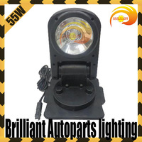 12V 55W 35W 360 degree rotating wireless HID xenon remote search light,boat work light