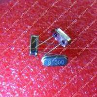 100pcs/Lot HC-49S 8MHZ 8.000MHZ Clock oscillator / Quartz crystal products and ROHS Free shipping