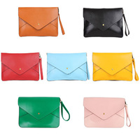 Fashion 2014 NEW Arrived vintage handbag pu leather shoulder bag Envelope bag Hot Products factory sale