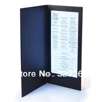 Model S5511 LED menus popular for dark clubs and restaurants