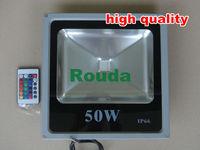 led floodlights 10W ,20W ,30W , 50W , Warm white / White / RGB Remote Control 100lm/w %off colored outdoor flood lights