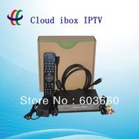 High Quality Cloud ibox Mini Vu+Solo DVB-S2 IPTV+Youtobe Streaming Channels Satellite Receiver Free Shipping (Cloud I box)