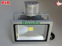 %off pir led floodlight 50w,30w 20w flood pir epistar 100-110lm/w high quality Guarantee 3years CE ROHS IP65