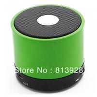 Green HiFi Handsfree Mic Portable Bluetooth Metal Wireless 3W Mini Speaker