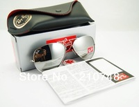 new  fashion men women polarized sunglasses in box for men women 3025 glasses and tide toad mirror