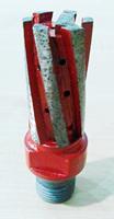 "Bottom enhanced CNC diamond Finger bits  , D25mm* 50mm *1/2"" Gas"