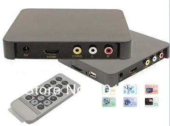 Free shipping!Autoplay full hd 1080p advertising player,digital signage media player,hdmi/SD/MMC/USB Host HD007