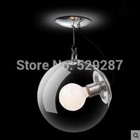 New Modern soap bubble pendant lamp Italian Style Glass Pendant Lights New Year led lights  Christmas