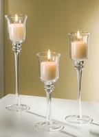 3pcs/set Fashion american wedding candle holders