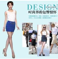 2014 Womens New  High Waist Pleated  Chiffon bodycon Skirt Free Shipment maxi short skirts
