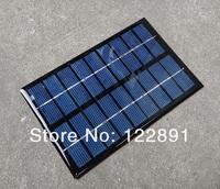 9V 350MA 3W Solar Panel Mini Solar Cell Panel Solar Module DIY Panel Solar Power 6V Battery Charger 125*195*2MM Free Shipping