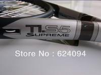 The new 2013   TITANIUM  SUPREME Ti  S5 tennis racket grip 41/4 43/8 4 free shipping