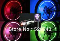 PRONMOTIONAL 4pcs/pack free shipping wholesale led flashing car light cool wheel lamp colorful tire lighting