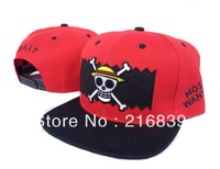 2013 new style cartoon cap, fashion One Piece snapbacks, wholesale high quality hats, can mix orders+free shipping!