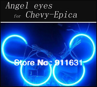 Free Shipping 4pcs/set CCFL Angel Eyes Halo Ring For Chevrolet  Chevy-Epica White Blue Red Green Color Choose