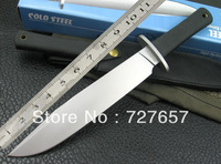 Cold Steel 16CB Fixed Blade Knife Hunting Knife 440C Blade Outdoor Straight Knife With Rubber Handle Free Shipping