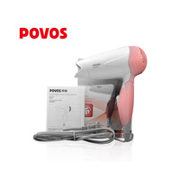 Free shipping POVOS PH7153 hair dryer travel hair dryer foldable hair dryer 850w thermostated small and goo design hairdryer