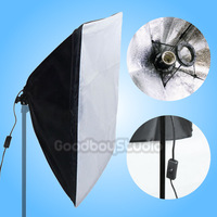 50x70cm Studio Folding Easy Soft Box Softbox with E27 Socket Bulb Lamp Holder 110V~120V US Plug