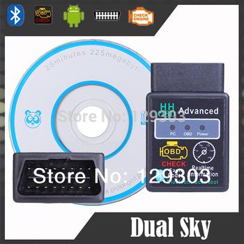 Good Auto Car ELM327 HH Bluetooth OBD 2 OBD II Diagnostic Scan Tool Scanner
