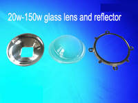 Secondary optical led lens and reflector for 20w-200w high power led