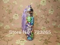 Empty glass perfume bottle, sprayer perfume bottle, polymer perfume bottle, bottle,car accesor,car perfume