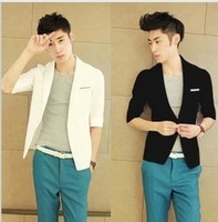2013 spring male suit men's blazer suit male blazer,free shipping
