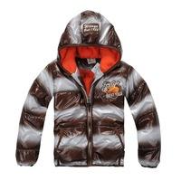 Hot Sale Children Outerwear Striped & Zipper Jackets Size 100-130 cm Thicken Design Boy Casual Coat