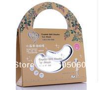 Free shipping 2013 Possbie eye mask stickers crystal q10 elastin eye mask compact  Eye Care