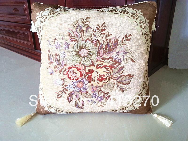 tassel sofa back cushion covers throw pillow case