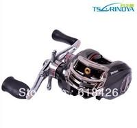 Free shipping Fishing reel Bait baitcasting fishing reel Right hand Trulinoya DW1000A One-way+10ball bearings 6.3:1 Gear Ratio