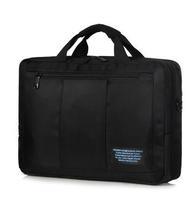 Inch brinch laptop bag laptop backpack male women's double-shoulder laptop bag