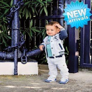 New arrival 1set/lot (Jacket +Shirt+Pants ) 3pcs Cool Baby Boys suit, Boys Clothes Set Kid Clothes autumn wear